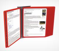 Настенная перекидная система «книжка»