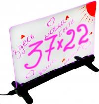 Флеш-панель настольная 30x22 см