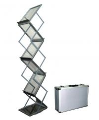 Мобильная буклетница «Зиг-Заг» с кейсом