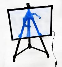 Флеш-панель 60x80 см прозрачная