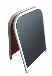 Штендер металлический меловой 550х870 мм
