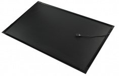 Флеш-панель 70x90 см черная непрозрачная