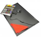 Флеш-панель 80x120 см черная непрозрачная