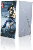 Алюминиевые X-стенды серии «Стандарт»